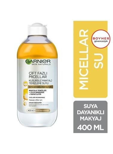 Garnier Garnier Çift Fazlı Micellar Kusursuz Makyaj Temizleme Suyu 400 ml Renksiz
